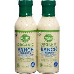 Salsa Organica Ranch para ensaladas, 2 unid de 354 ml C/U