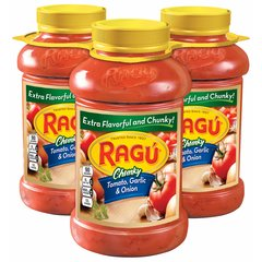 Salsa RAGU JARDIN. 3 unidades de 1.27 Kgs c/U