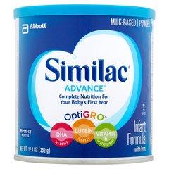 Similac Advance, alimento completo para bebés recien nacidos hasta 1 año