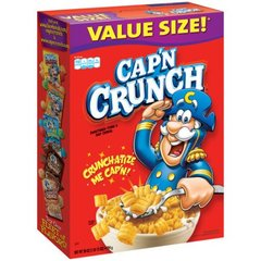 Cereal Captain Crunch Caja Grande 794 grs