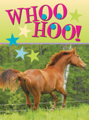 Equine birthday cards horse hollow press birthday card whoo hoo item gc party bookmarktalkfo Images