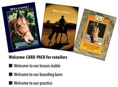 10 WELCOME Card Retailer Pack - 10 Welcome Cards - Item # RP-Welcome