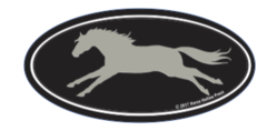 Laptop, Cell Phone & Helmet Sticker: Thoroughbred! - Item # HS TB