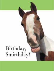 Birthday Card: Birthday, Smirthday! - Item # GC Dewey