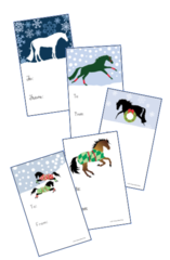 Gift Tags in BULK: Assorted Designs - Item # GT X Assorted BULK
