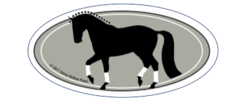 Laptop, Cell Phone & Helmet Sticker: Dressage passage! - Item # HS Dressage