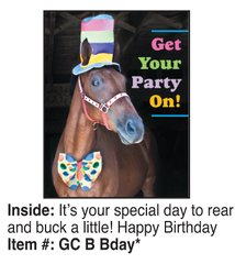 Birthday Card: Get your party on! - Item # GC B Bday