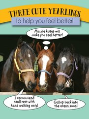 Get Well Card: Three cute yearlings!! Item # GC GW TB