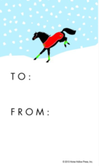 Gift Tags in BULK: Bucking Horse - Item # GT X Bucking BULK