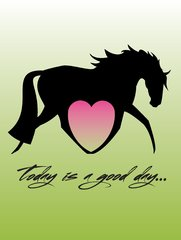 Birthday Card: Today is a Good Day! - Item # GC B Heart