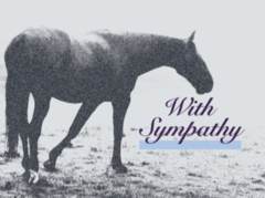 Sympathy Card: With Sympathy - Item # GC 15 Sym