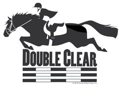 Clear Vinyl Window Sticker: Double Clear Window Sticker - Item # D Double
