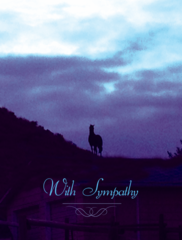 Sympathy Card: With Sympathy - Item # GC 24 Sym