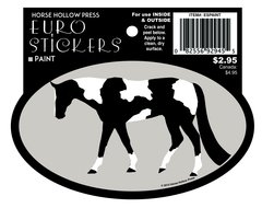 Euro Oval Sticker: Paint - Item # ES Paint