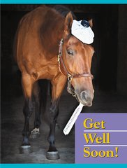Get Well Card: Get well soon! - Item # GC B GW