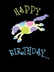 Birthday Card: Happy Birthday! - Item # GC Bucking