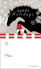 Gift Tags in BULK: Jumper with Snow Flakes - Item # GT X 34 BULK