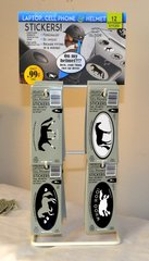 SMALL DISPLAY - Laptop, Cell Phone & Helmet Sticker Item # HS Small