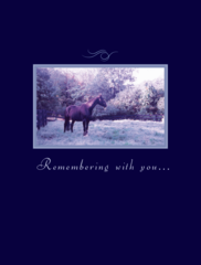 Sympathy Card: Remembering with you... - Item # GC 2 Sym