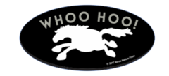 Laptop, Cell Phone & Helmet Sticker: Whoo Hoo! - Item # HS Whoo Hoo