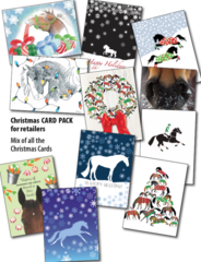 25 Christmas Card Retailer Pack - 25 Christmas Cards - Item # RP-X Pack