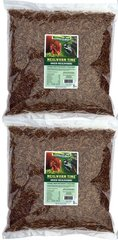 Dried Mealworms -10 lbs (2 x 5 lbs resealable bags)
