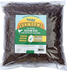 Sunworms (Black Soldier Fly Larvae)from NaturesPeck (5 lbs)