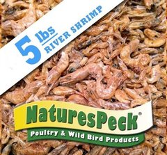 Dried River Shrimp(LARGE) - 5 lb Bag