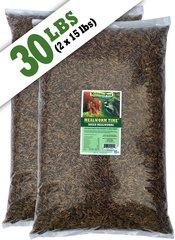 Mealworm Time® Dried Mealworms - (30 lb)