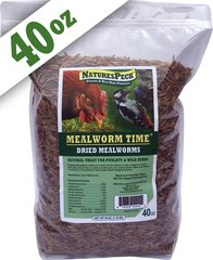 Mealworm Time® Dried Mealworms - (40 oz)