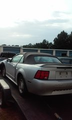 1999 Mustang 3.8 automatic convertible