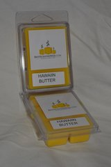 Hawiian Butter Triple Scented Wax Melts (6 Cubes Per Shell)