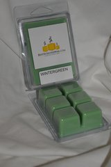 Wintergreen Triple Scented Wax Melts (6 Cubes Per Shell)