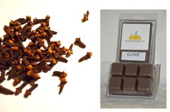 Clove Scented Triple Wax Melts (One Shell Holds 6 Cubes)