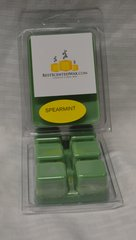 Spearmint Triple Scented Wax Melts (6 Cubes Per Shell)