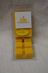 Buttered Popcorn Triple Scented Wax Melts (6 Cubes Per Shell)