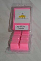 Cotton Candy Triple Scented Wax Melts (One Shell Holds 6 Cubes)