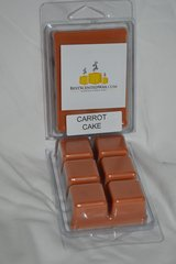 Carrot Cake Triple Scented Wax Melts (6 Cubes Per Shell)