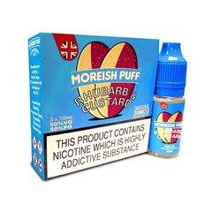 Rhubarb & Custard by Moreish Puff TPD Compliant eLiquid – 3 x 10ml