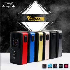 GTRS VBOY 222W Box Mod 18650/20700/21700 Battery Capable