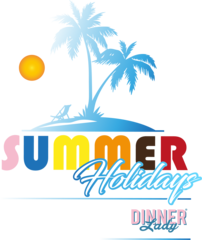 Dinner Lady Summer Holiday 50ml Shortfill Juice Range