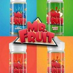 Mr. Fruit eLiquid 100ml 0mg Juice Range