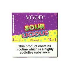 Sourlicious by VGOD 3mg