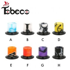 Tobeco Acrylic Mini  Super Tank Wide Bore Drip Tip