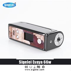 Sigelei Evaya 66 TC Box Mod - Stabilized Wood
