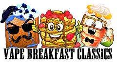 Vape Breakfast Classics 50ml Shortfill Juice Range