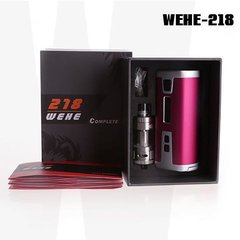 Sigelei Wehe 218 Starter Kit With 218w Mod And X-Tank Clearomizer