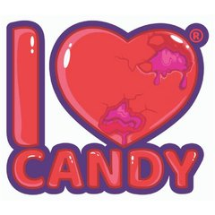 I Love Candy 100ml Juice Range by Mad Hatter