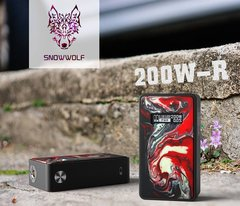 SnowWolf R 200W TC Box Mod