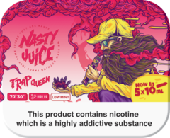 "Nasty Juice Trap Queen ""Yummy Fruity"" series 50ml Multipack (5 x 10ml)"